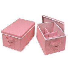 Wyatt 2 Piece Folding Storage Basket Set