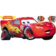 Popular Characters Cars Lightening McQueen Giant Wall Decal