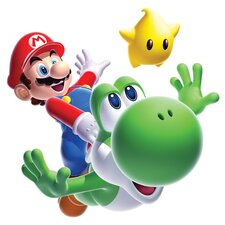 Popular Characters Mario Yoshi Giant Wall Decal