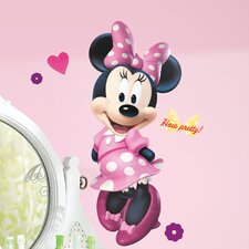 Popular Characters Mickey and Friends Minnie Bowtique Giant Wall Decal