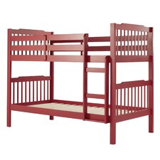 Sauganash Standard Twin over Twin Bunk Bed
