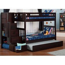 Cascade Twin over Twin Bunk Bed with Trundle