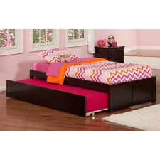 Concord 2 Piece Twin Trundle Bed & Nightstand Set