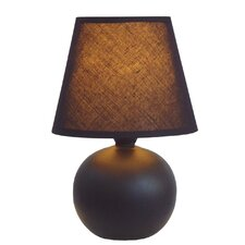 "Leah Ceramic Globe 8.66"" H Table Lamp with Empire Shade"