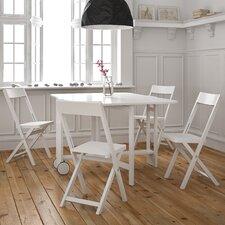 Sasha Rebecca 5 Piece Table and Chair Set