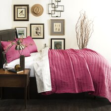 Justice Solid Coverlet Set