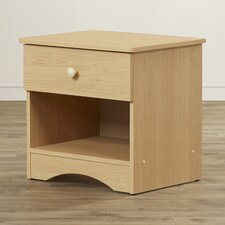 Rocky James 1 Drawer Nightstand