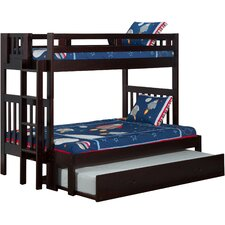 Cascade Twin over Full Bunk Bed with Trundle