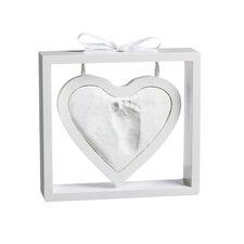 Baby Heart Shaped Clay Imprint Photo Frame Kit