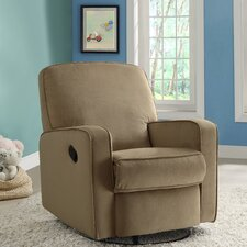 Maple Sylvie Swivel and Glider Recliner