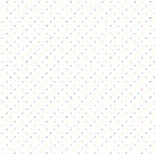 """Tudor Hall 33' x 20.5"""" Polka dot 3D Embossed Wallpaper"""