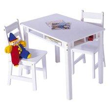 Alexa Kids 3 Piece Table & Chair Set
