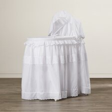 Priscilla Bassinet with Floor Long Skirt