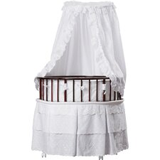 Marisol Bassinet  with Eyelet Bedding