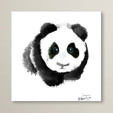 Baby Panda Painting Print