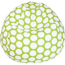 Telly Polka Dot Bean Bag Chair