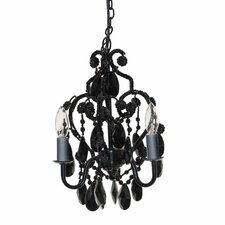 Caden 3 Light Mini Chandelier