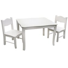 Matilda Kids' 3 Piece Table and Chair Set