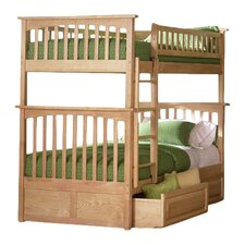 Henry Bunk Bed with Storage