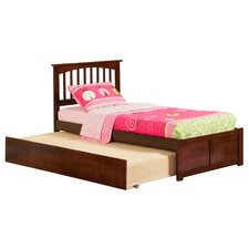 Greyson Slat Bed with Trundle