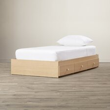 Rocky James Twin Platform Bed with Storage
