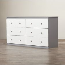 Wes 6 Drawer Dresser