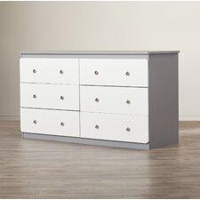 Wes 6 Drawer Dresser