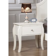 Chloe 1 Drawer Nightstand