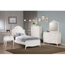 Chloe Panel Customizable Bedroom Set