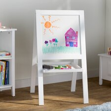 Kaitlin Marker Tray Double Sided Board Easel