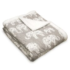 Hector Sherpa Throw Blanket