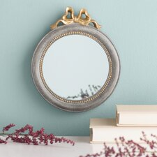 Arielle Golden Bow Wall Mirror