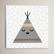 Colbie Little Teepee Graphic Art on Canvas