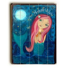 Mermaid Wishes Wall Art Plaque