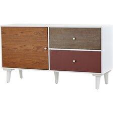 Marcy Colorblock Storage Cabinet