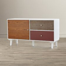 Marcy Colorblock Storage Cabinet