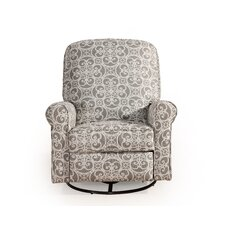 Ruby Sweetheart Doodles Ash Glider Swivel Recliner