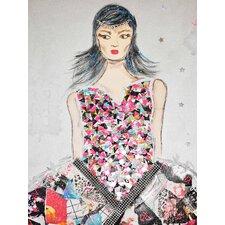 "Kunstdruck ""girl"" 40 cm H x 30 cm B"