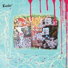 "Kunstdruck ""Kinder"" 30 cm H x 30 cm B"