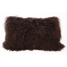 Tibetan Lamb Fur Lumbar Pillow