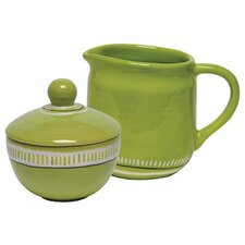 Colors Sugar and Creamer Set