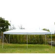 Pop-Up Canopy Party Tent with Mesh Wall