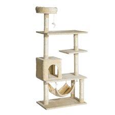 Multi-Scratcher Scratching Post Cat Tree