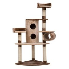 Two Story Cat Tree Scratching Post Cat Condo