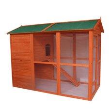 Deluxe Large Backyard Chicken Coop/Hen House with Outdoor Run