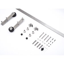 Interior Sliding Barn Door Kit Hardware Set