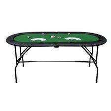 "72"" Oval Poker/Blackjack Card Game Table"