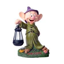 Disney Garden LED Dopey Statue
