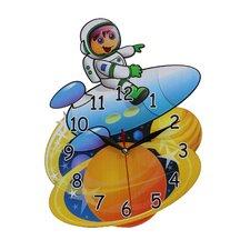 Wanduhr Astronaut
