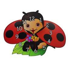 Wanduhr Ladybird